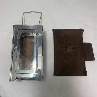 ☆中古☆スイス軍 キャンドルランタン フォールディングランタン SWISS MILIITARY Folding Lantern Candle Original 191029-06