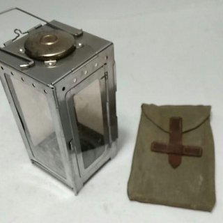中古 スイス軍 フォールディングキャンドルランタン 191029-23