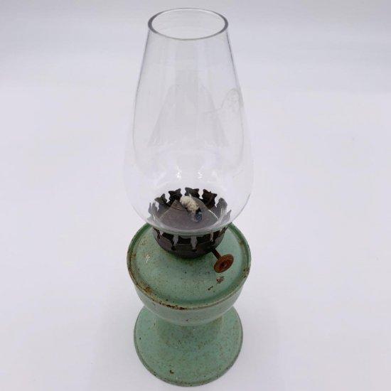 オイルランプ <br>イギリス製 アンティーク <br>英国製 オイルランプ<br> Oil Lamp