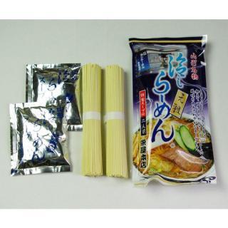 冷しらーめん 乾麺 (2食入)×3袋
