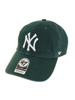 【47BRAND(フォーティーセブン ブランド)】Yankees '47 CLEAN UP(6パネルキャップ) Dark Green