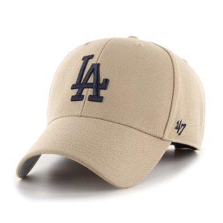 <img class='new_mark_img1' src='https://img.shop-pro.jp/img/new/icons58.gif' style='border:none;display:inline;margin:0px;padding:0px;width:auto;' />【47BRAND(フォーティーセブン ブランド)】Dodgers '47 MVP(スナップバックキャップ) Khaki