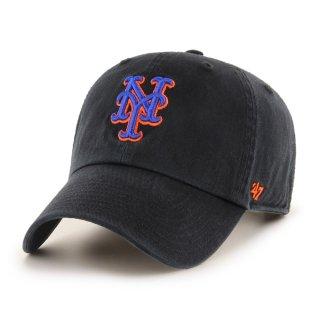 【47BRAND(フォーティーセブン ブランド)】Mets '47 CLEAN UP(6パネルキャップ) Black