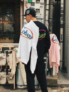 【COLVETT(コルベット)】O-VAL LOGO L/S TEE (ロゴ 長袖Tシャツ) Lt. Pink