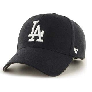 <img class='new_mark_img1' src='https://img.shop-pro.jp/img/new/icons7.gif' style='border:none;display:inline;margin:0px;padding:0px;width:auto;' />【47BRAND(フォーティーセブン ブランド)】Dodgers '47 MVP(スナップバックキャップ) Black