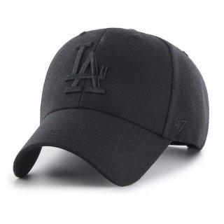 <img class='new_mark_img1' src='https://img.shop-pro.jp/img/new/icons58.gif' style='border:none;display:inline;margin:0px;padding:0px;width:auto;' />【47BRAND(フォーティーセブン ブランド)】Dodgers '47 MVP(スナップバックキャップ) Black×Black