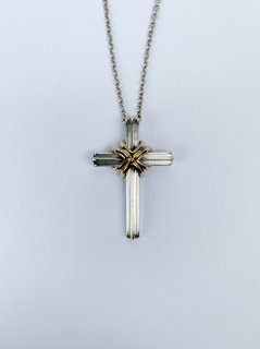【TIFFANY&Co.(ティファニー)】VINTAGE SIGNATURE CROSS NECKLACE (ヴィンテージネックレス)