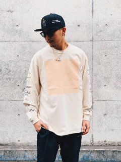 <img class='new_mark_img1' src='https://img.shop-pro.jp/img/new/icons7.gif' style='border:none;display:inline;margin:0px;padding:0px;width:auto;' />【WANNA(ワナ)】UNTITLED L/S TEE (長袖Tシャツ) Natural
