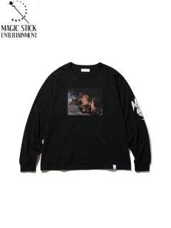 【MAGIC STICK(マジックスティック)】CHRONUS LS TEE (長袖Tシャツ) Black