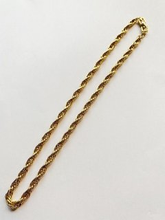 【GIVENCHY(ジバンシイ)】VINTAGE TWIST CHAIN NECKLACE (ヴィンテージネックレス)