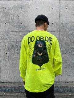 【LONELY論理(ロンリー)】DO OR DIE LS TEE (長袖Tシャツ) Gold