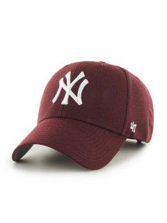 <img class='new_mark_img1' src='https://img.shop-pro.jp/img/new/icons7.gif' style='border:none;display:inline;margin:0px;padding:0px;width:auto;' />【'47(フォーティーセブン)】Yankees Home '47 MVP(ストラップバックキャップ) Dark Maroon