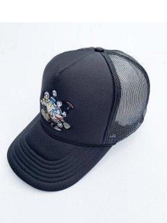【WANNA(ワナ)】WWW MESH CAP (メッシュキャップ) Black