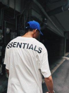 【FOG ESSENTIALS(フィアオブゴッドエッセンシャル)】 REFLECTOR LOGO S/S TEE  (半袖Tシャツ) White