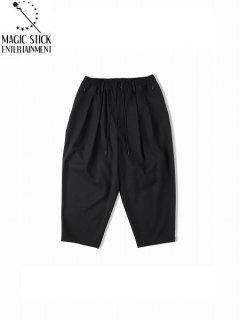 【MAGIC STICK(マジックスティック)】THE CORE Ideal Cropped pants (クロップパンツ) Black