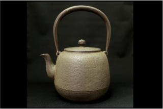山形鋳物 長文堂の手づくり鉄瓶〈なつめ〉1.5L(送料込)