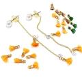 ミニ刺繍糸タッセル