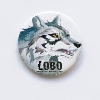 LOBO缶バッジ (NO.1)