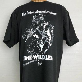 THE WILD LEG Tシャツ(LEG-black)