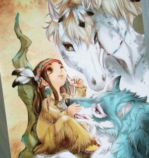 「ユアナと銀の月」クリアファイル