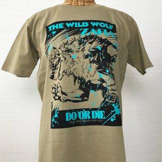 THE WILD LEG Tシャツ(ZAHA-3) サンドカーキ