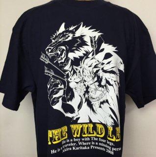 THE WILD LEG Tシャツ(ブラック)