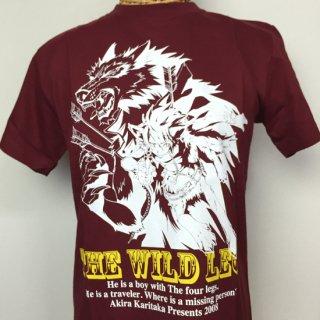 THE WILD LEG Tシャツ(レッド)