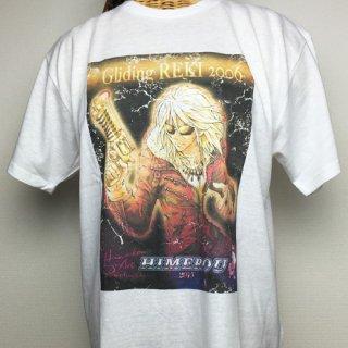 GLIDING REKI Tシャツ(ホワイト)