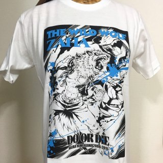 THE WILD LEG Tシャツ(ZAHA-2) ホワイト