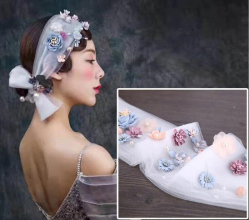 造花カチューシャ 写真撮影 花冠 ヘッドドレス