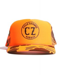 CycleZombies / サイクルゾンビーズ GARAGE Standard Trucker Hat