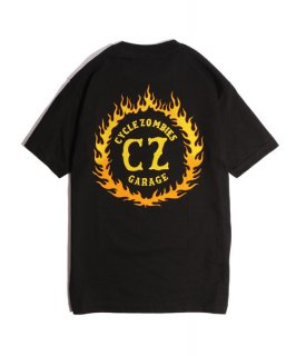 CycleZombies / サイクルゾンビーズ FLAMEBOY S/S T-SHIRT