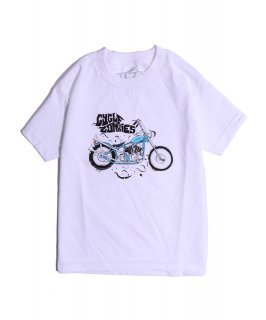 CycleZombies / サイクルゾンビーズ BLU Kids S/S T-SHIRT