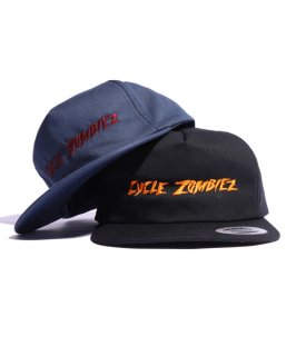 CycleZombies / サイクルゾンビーズ DRAINED Unconstructed Snapback Hat