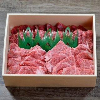 鳥取和牛オレイン55焼肉 肩ロース・モモ 650g 【精肉箱つき】