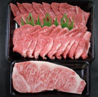 鳥取和牛サーロインステーキと焼肉 大容量800g【送料無料】【内祝 ギフト 誕生日】