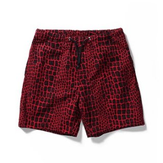 WACKO MARIA(ワコマリア) /SWIMMING SHORTS (TYPE-3)【RED】