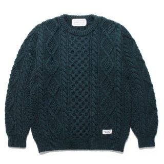 WACKO MARIA(ワコマリア) / FISHERMAN'S SWEATER【GREEN】