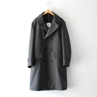 WACKO MARIA(ワコマリア) /DOUBLE BREASTED COAT ( TYPE-1 )【GRAY】