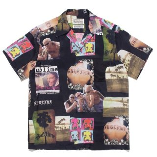 WACKO MARIA(ワコマリア) / SUBLIME / S/S HAWAIIAN SHIRT ( TYPE-1 )【BLACK】