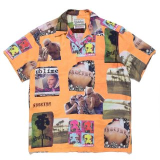 WACKO MARIA(ワコマリア) / SUBLIME / S/S HAWAIIAN SHIRT ( TYPE-1 )【ORANGE】