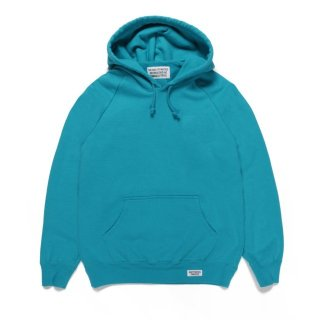 WACKO MARIA(ワコマリア) / WASHED HEAVY WEIGHT PULLOVER HOODED SWEAT SHIRT ( TYPE-1 )【TURQUOISE】