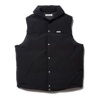 COOTIE(クーティー)/ CTE-20A217 Weather Cloth Oversized Down Vest【Black】