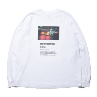 COOTIE(クーティー)/ CTE-20S345 Print L/S Tee (LOWRIDER)【White】