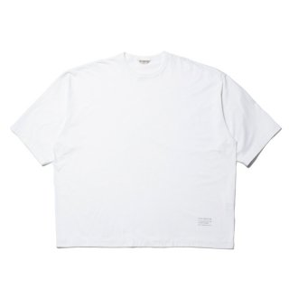 COOTIE(クーティー)/ CTE-21S306 Supima Cotton Wide Fit S/S Tee【WHITE】
