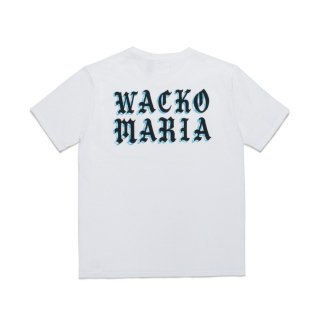 <img class='new_mark_img1' src='https://img.shop-pro.jp/img/new/icons50.gif' style='border:none;display:inline;margin:0px;padding:0px;width:auto;' />WACKO MARIA(ワコマリア) / ALEXIS ROSS / USA BODY CREW NECK T-SHIRT ( TYPE-2 )【WHITE】