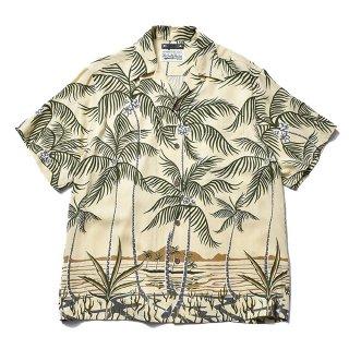 <img class='new_mark_img1' src='https://img.shop-pro.jp/img/new/icons7.gif' style='border:none;display:inline;margin:0px;padding:0px;width:auto;' />MINEDENIM(マインデニム) / WACKO MARIA × MINEDENIM Palm tree Hawaiian Shirt【YPT】