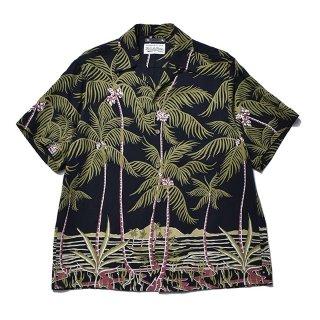 <img class='new_mark_img1' src='https://img.shop-pro.jp/img/new/icons7.gif' style='border:none;display:inline;margin:0px;padding:0px;width:auto;' />MINEDENIM(マインデニム) / WACKO MARIA × MINEDENIM Palm tree Hawaiian Shirt【BLT】