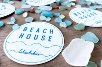 Beach House original Sticker