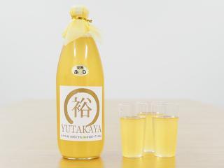 山形県産リンゴジュース(果汁100%)